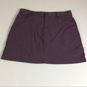 Eddie Bauer Hiking Activewear Skirt/Skort Sz 12
